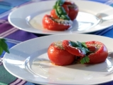 Пълнени домати с леща