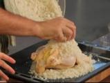 Пикантно пиле в сол със зеленчуци 4