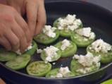 Канапе от зелени домати