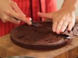 Шоколадова торта с тиква 5