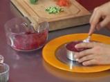 Тартар от червено цвекло с пъдпъдъчи яйца 5
