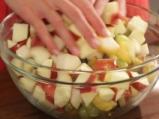 Пълнена тиква с плодове и ядки 3