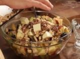 Пълнена тиква с плодове и ядки 4