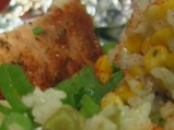 Свински котлети с ориз във фолио
