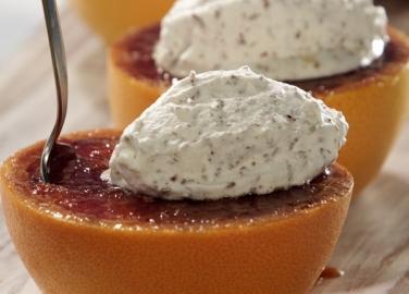 Грейпфрут с карамелена коричка