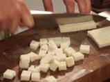 Зелева салата със сирене