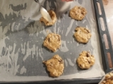 Бисквити с тиква и шоколад 7