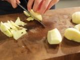 Ябълков десерт с овесени ядки 3