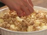 Ябълков десерт с овесени ядки 5