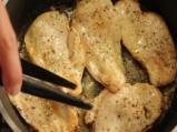 Пиле по нормандски с гарнитура от печена целина 2