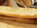 Триъгълни пасти с маслено-какаов крем 6