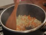 Супа от леща с наденица 3