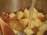 Супа от карфиол с наденица 3