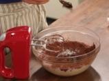 Шоколадов кейк с паяжина 2