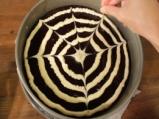 Шоколадов кейк с паяжина 6