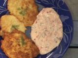 Картофени кюфтета с хрян