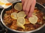 Пилешка яхния с лимон и маслини 6