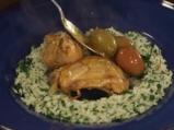 Пилешка яхния с лимон и маслини 9