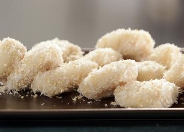 Оризови бисквити с кокос