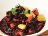 Салата от черен ориз и манго 4