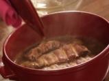 Свински ребра в сос от червен боб 2