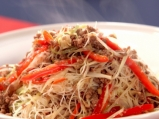 Оризови нудли с телешка кайма
