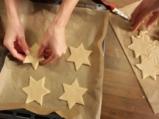 Коледни звезди с бадеми 5