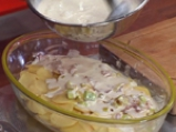 Шаран върху хилядолистник от картофи 3