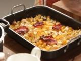 Супа от печена тиква с ябълки и бекон 2