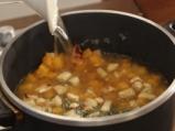 Супа от печена тиква с ябълки и бекон 3