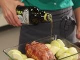 Руло от свинско с ябълки 10