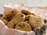 Солени бисквити с гъби и лук