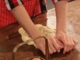 Солени бисквити с гъби и лук 6