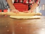 Солени бисквити с гъби и лук 7