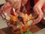 Салата от печени зимни зеленчуци 2