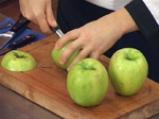 Пълнени карамелизирани ябълки с ориз, ядки и плодове 2