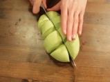 Зелени тортили с червен боб 3