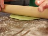 Зелени тортили с червен боб 4