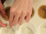 Тарталети с течен шоколад 4