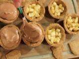 Тарталети с течен шоколад 9