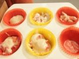 Мъфини с ягоди и шоколад 4