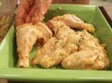 Печено пиле с шалот и мащерка 4