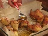 Печени пилешки бутчета, мариновани в мътеница 6
