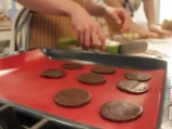 Бисквити с течен шоколад 5