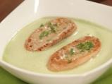 Крем супа от грах с мента 6