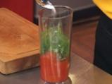 Бобена салата с доматен винегрет 2