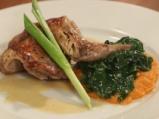 Заек с моркови и спанак 8