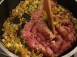 Кайма със зеленчуци върху жълт ориз 4
