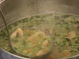 Зеленчукова супа с ориз и лимон 4