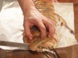 Пълнозърнест хляб с пилешко и моцарела 6
